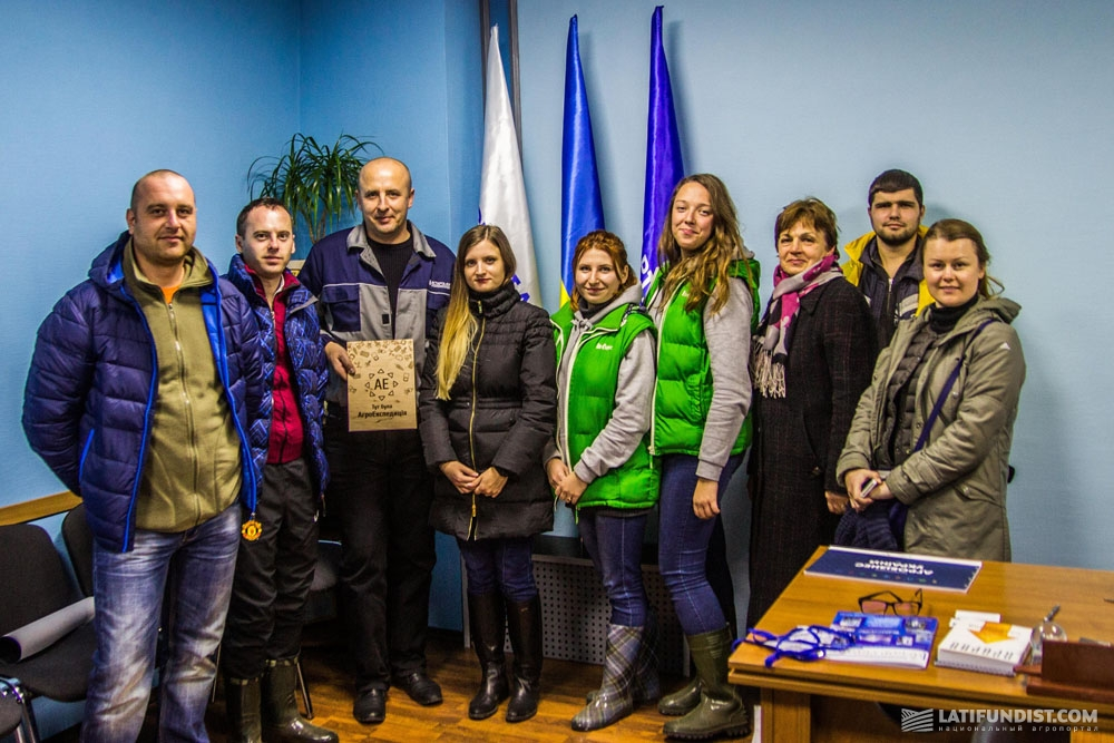 АгроЭкспедиторы на Яреськовскогм сахарном заводе